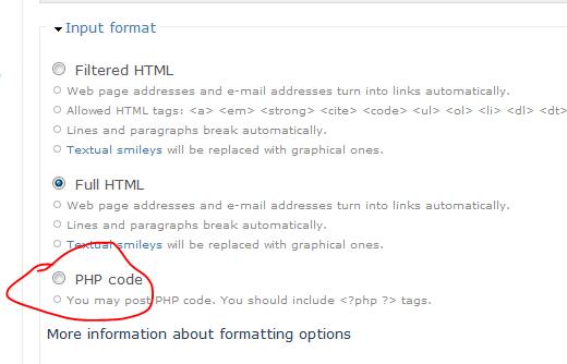 php in drupal